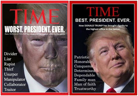 Worst Magazine Covers by Fact Check Was Labeled Best President Or Worst