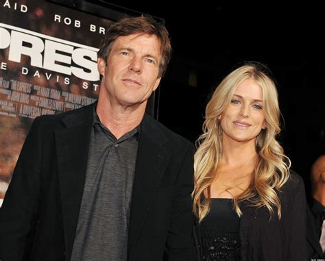 Carolyn Espley dennis quaid divorce off actor and wife kimberly not