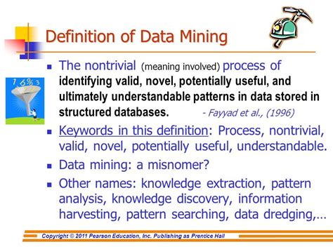 pattern analysis definition chapter 5 data mining for business intelligence ppt