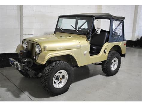 1970 Cj5 Jeep Jeep Cj 1970 Jeep Cj5 255 C I V6 3 Speed Manual W