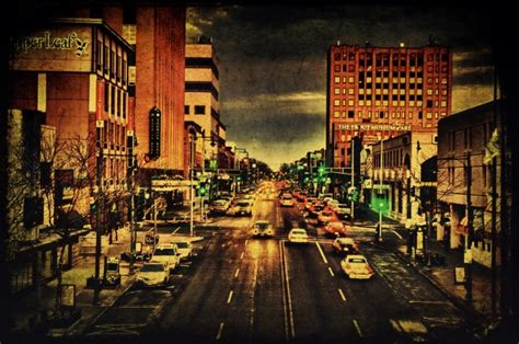 downtown college avenue photograph appleton