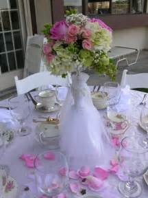 wedding shower centerpieces ideas bridal tea