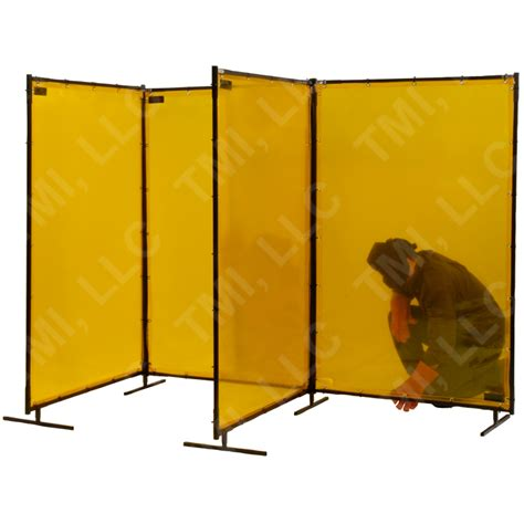 portable curtain frame freestanding portable weld screens welding screens tmi