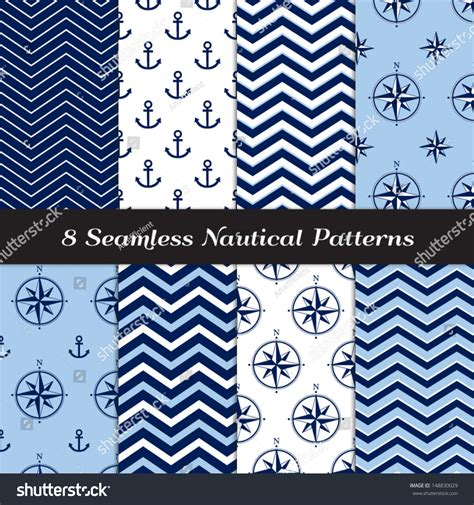 nautical pattern vector free nautical blue white navy blue chevron stock vector