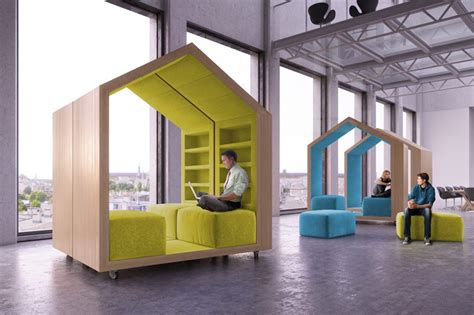 designboom portable office malcew references tree houses in modular break out furniture