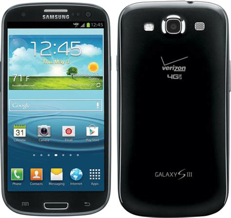 android phones verizon samsung galaxy s3 sch i535 16gb android smartphone for verizon black fair condition used