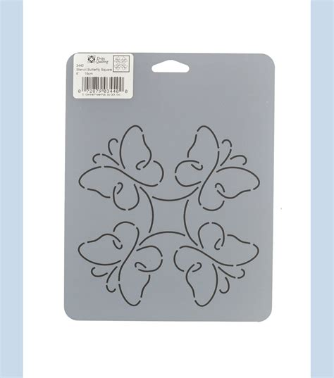 dritz quilting 7 x 9 stencil butterfly square at joann