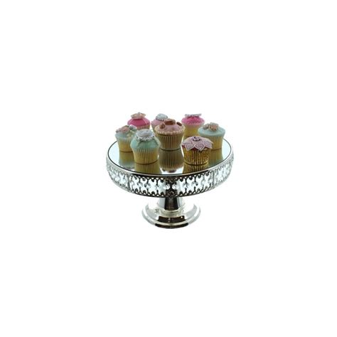 The Cake Decorating Company by The Cake Decorating Co Mirrored Cake Stand With