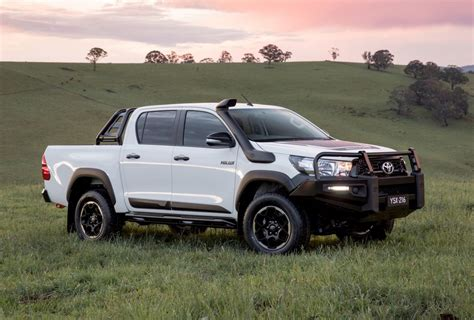 toyota hilux toyota hilux rugged rogue variants confirmed for