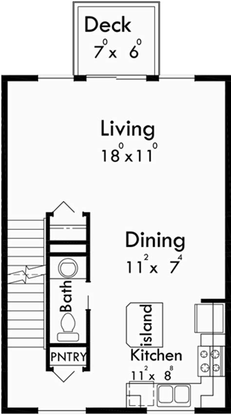 narrow townhouse floor plans 4 plex plans narrow townhouse plans f 562