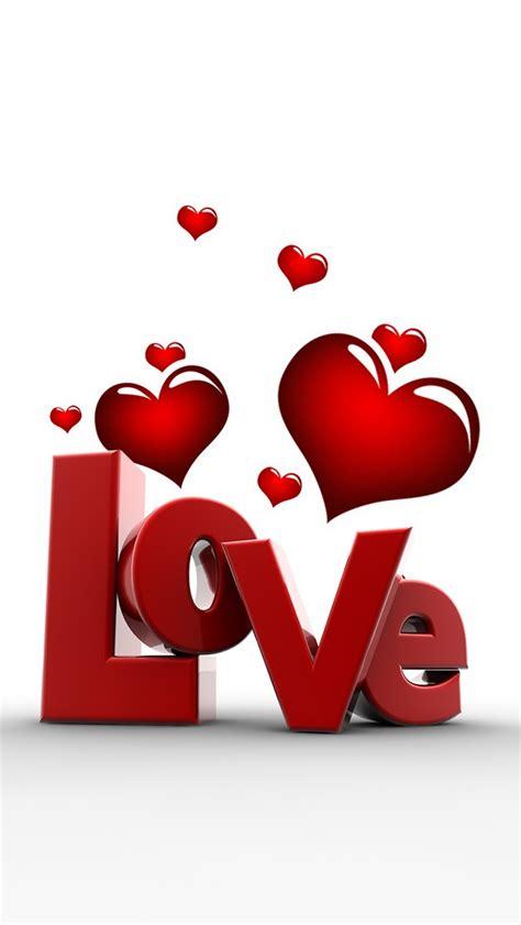 3d love heart sleek 3d love and heart wallpaper free iphone wallpapers