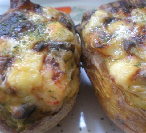 boletus recetas de cocina patatas rellenas de boletus y cecina cocina verduras