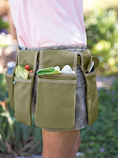 canvas gardening tool belt  orders ship