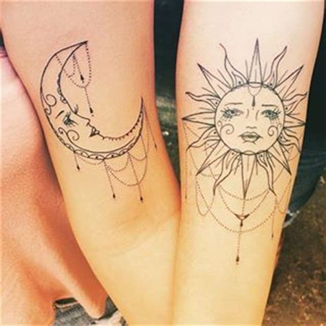 matching moon tattoos 1000 ideas about rising sun tattoos on sun