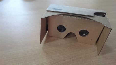 Vr Kardus Menilik Cardboard Sensasi Vr Dalam Kotak Kardus
