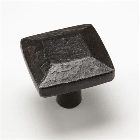 wrought iron knobs wrought iron pulls 1 5 quot post cap knob 0424