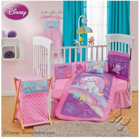 Disney Bedding Sets For Cribs Disney Aristocats Bedroom Decor 9pc Crib Bedding Nursery Set Shower Gift From 179 95