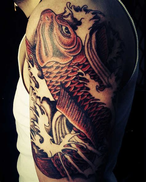 Colors Meanings by 116 Nice Fish Koi Tattoos Images With Meaning