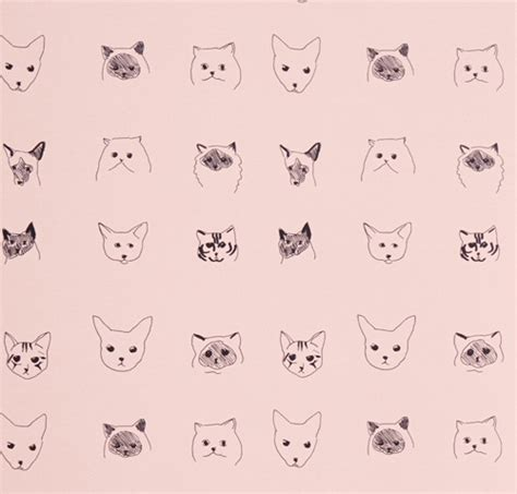 cat pattern iphone wallpaper feather background tumblr dog cute litle pups