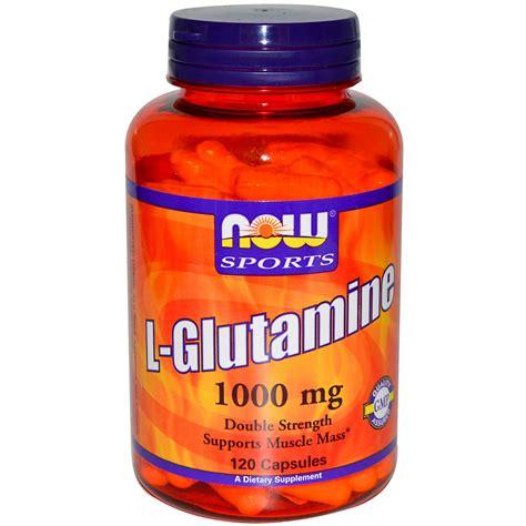 supplement l glutamine now foods l glutamine strength 1000 mg 120