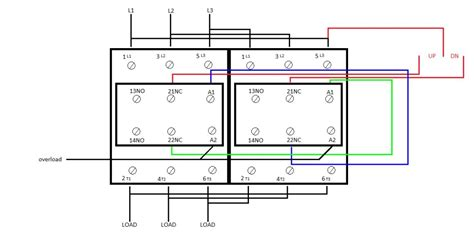 wiring up a contactor wiring diagram with description
