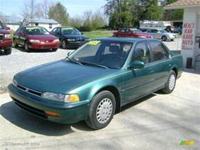How Reliable Is Honda Accord The Green 1992 Honda Accord Is The Most Reliable Vehicle