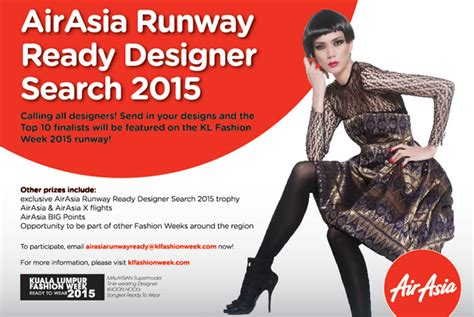 designer talent to shine in the 2015 coreldraw newsflash airasia runway ready designer search 2015