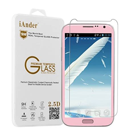 Spectre Tempered Glass Samsung Galaxy Note 2 Screen Protector 25d iander samsung galaxy note 2 premium tempered glass screen import it all