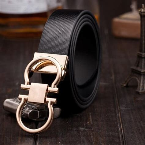 wholesale brand luxury belts h series smooth