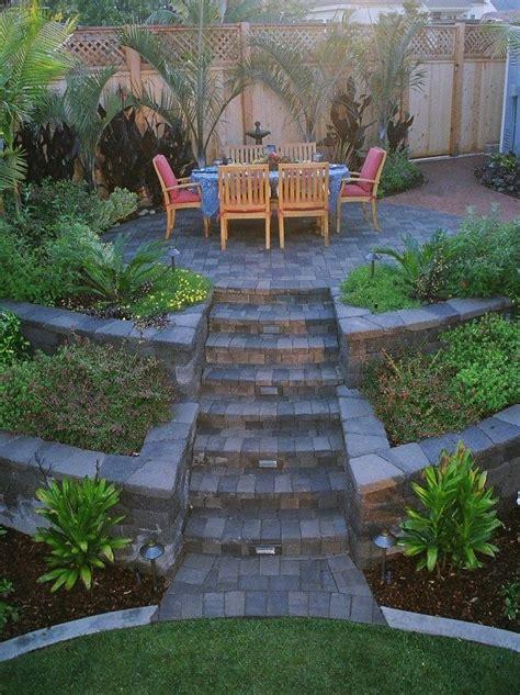 25 best ideas about terraced backyard on