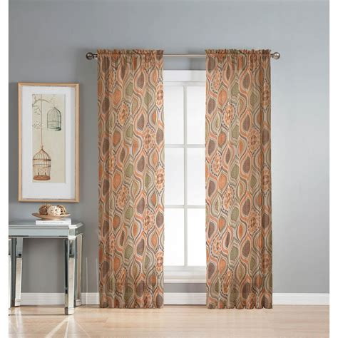 rust colored l shades rust colored grommet curtains soozone