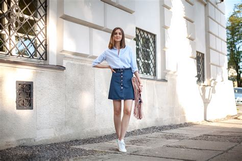 denim skirt trend dresscab