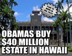 obama new house in hawaii the obama family costs taxpayers 1 4 billion per year