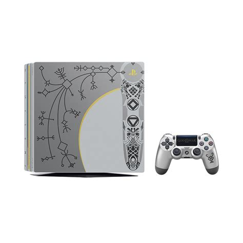 ps4 console bundle playstation 4 pro 1tb god of war limited edition console