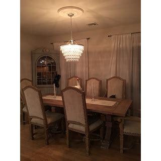wesley 6 light chandelier with clear teardrop wesley 6 light chandelier with clear teardrop