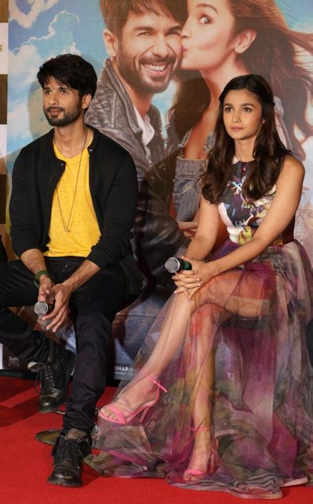 indian actors on pinterest shahid kapoor alia bhatt and deepika shaandaar shahid kapoor alia bhatt get cheeky