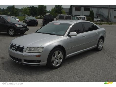 Audi A8 2004 by 2004 Light Silver Metallic Audi A8 L 4 2 Quattro 51189264