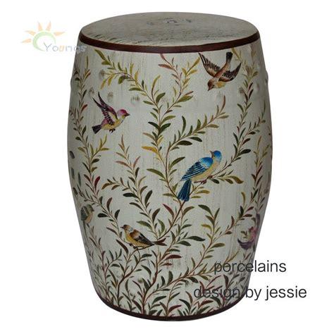 beautiful flower and bird glazed ceramic garden