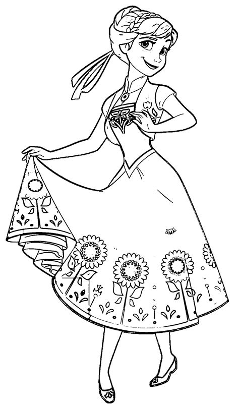 frozen fever coloring pages games 30 anna coloring pages coloringstar
