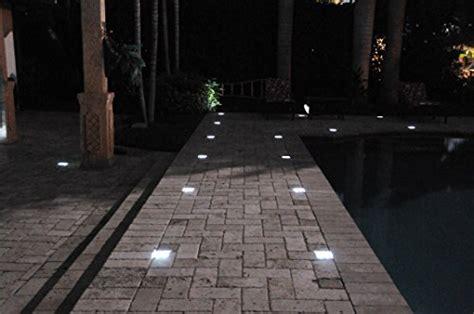 installing walkway lights paver light depot 4x8 solar led paver lights solar
