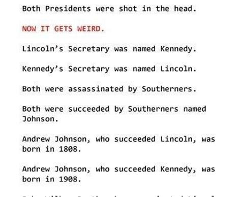 lincoln and kennedy assassination facts abraham lincoln f kennedy facts