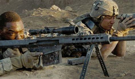 Kaos M C Hurt Locker barrett m107 174 50 bmg rifle featured in acclaimed
