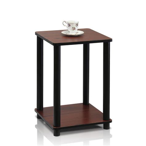 cherry end tables with storage safavieh raven dark cherry storage end table amh5703d