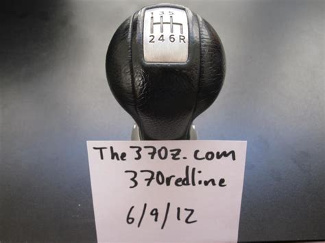 nissan 350z oem replacement shift knob