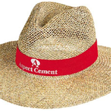 promotional wide brimmed akubra branded straw sun hats