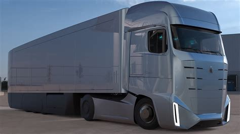 truck concept future kamaz electric truck concept