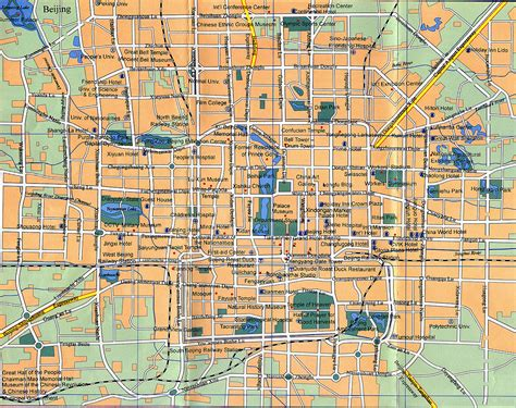 beijing map beijing city map beijing china mappery