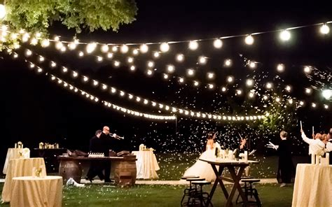 Outdoor Wedding String Lights Cafe Lights String Lights Absolute Lighting