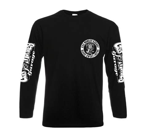 Hoodie Sweater Blood Sweat Ctrl Z Front Logo official t shirt gmg gas monkey garage blood sweat beers lsleeve all sizes ebay