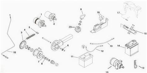 dingo diagram toro dingo electrical parts and drive system diagram